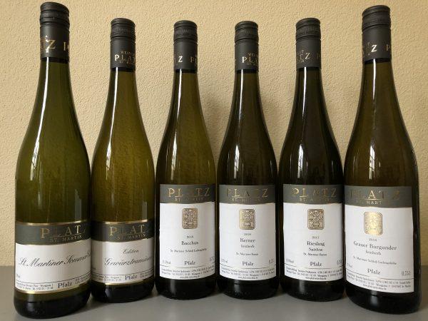 Halbtrockene Weißweine Probepaket